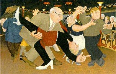 Tango by Beryl Cook