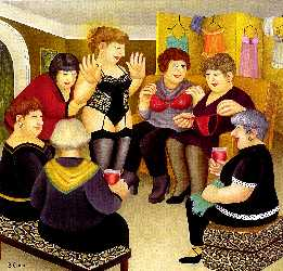 Party Girls by Beryl cook