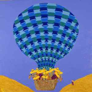 Playing the Blues in a Hot Air Baloon Irene George