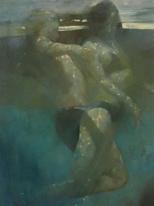 Underwater Swimmers by Bill Bate