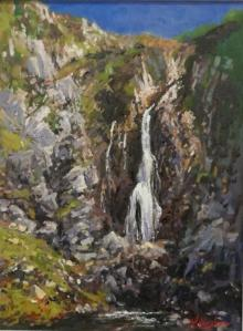 Waterfall II by Bernard Willington