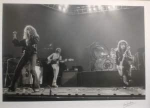 Led Zeppelin 1975 by Ian Dickson
