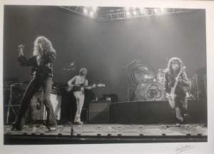 Led Zeppelin 1975 by Ian Dickson