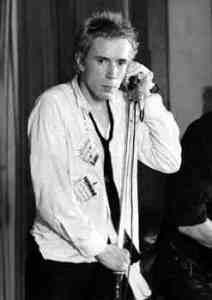 Johnny Rotten by Ian Dickson