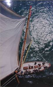 Top of the Mast 1 by Jon Nash
