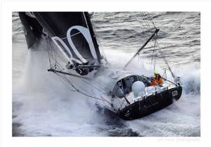 Hugo Boss Vendee Globe II by Jon Nash