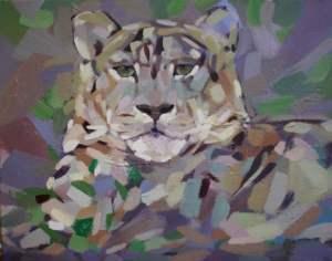 Snow Leopard by Marie Antinou