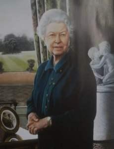 Portrait HRH Queen Elizaabeth 11