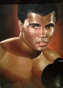 Muhammad Ali by Robin Elvin