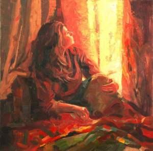 Window Contemplation by Richa Vora