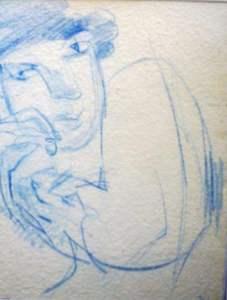 Sketch Head Study by Stephen Spicer