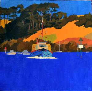The Ferryboat Cornwall by Steve Sharples