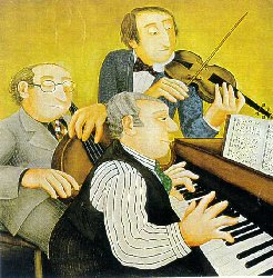 Musicians by Beryl Cook