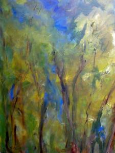 Light Through the Trees by Sally Trueman