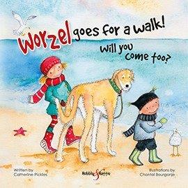 Worzel Book Cover by Chantal Bourgonje