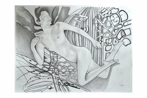 Reclining Nude by Ian MacDonald