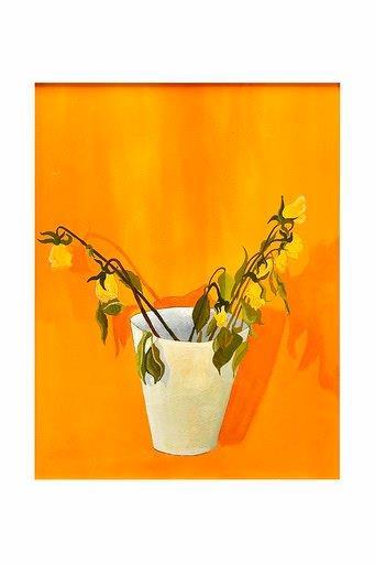 Still Life Yellow Flower by Ian MacDonald