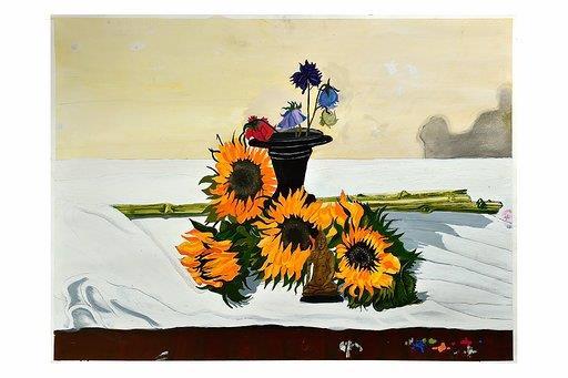 Still Life Sunflowers by Ian MacDonald