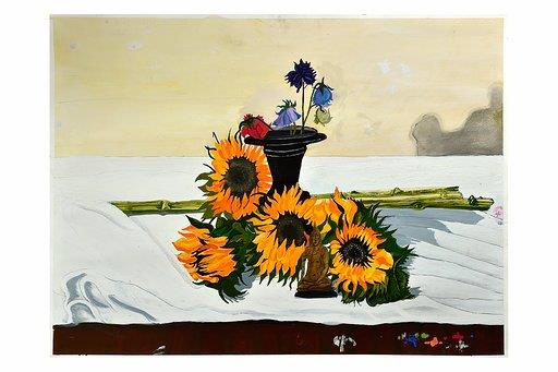 Still Life Sunflowers by Ian MacDonald