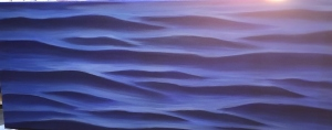 Abstraction of water ripples