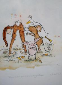 Nim Had Prickles by Chantal Bourgonje