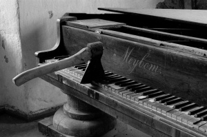 Axed Piano by Ola Tuvesson