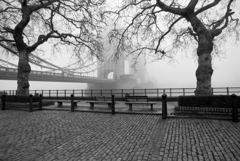 Tower Bridge from the Promenade by Ola Tuvesson
