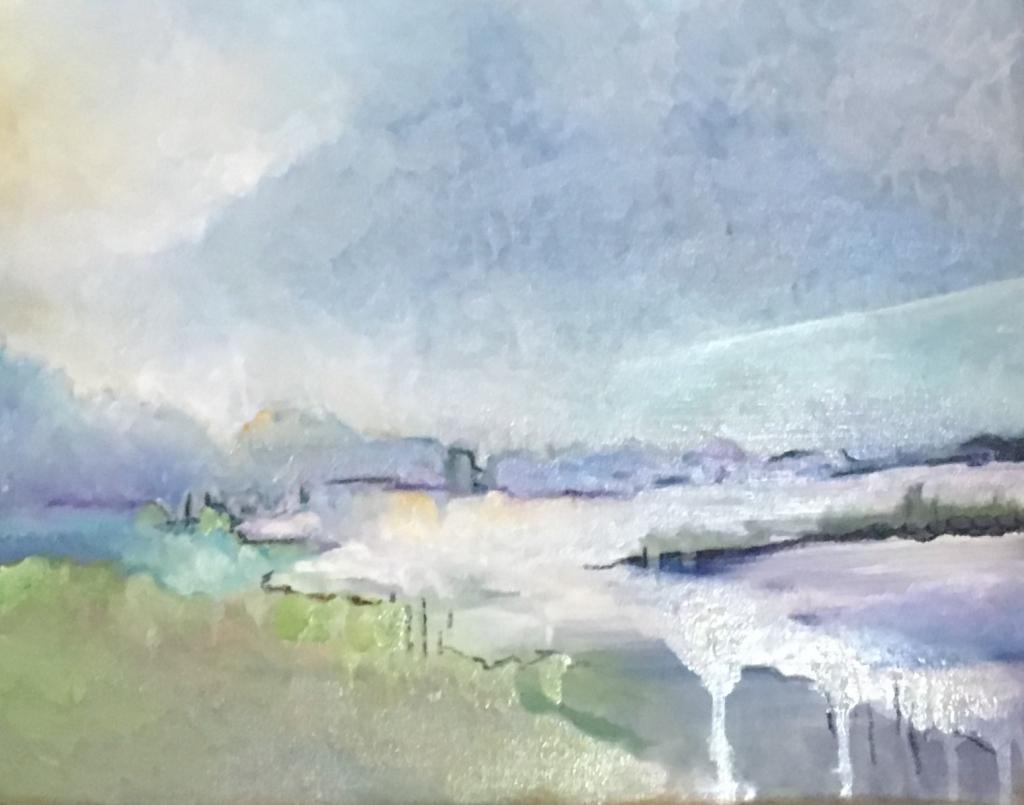 Light on Lake by Sarah Barrow
