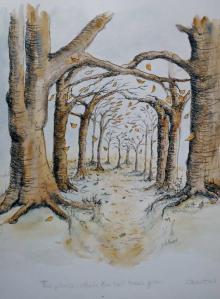 Tall Trees by Chantal Bourgonje