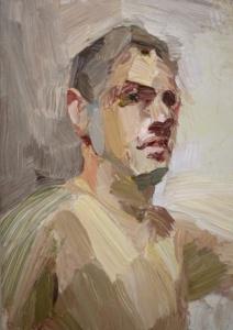 Self Portrait by Tim Benson